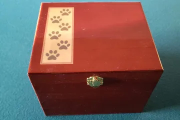 A box for pet remains